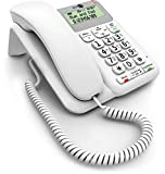 BT Decor 2200 Corded Telephone, White
