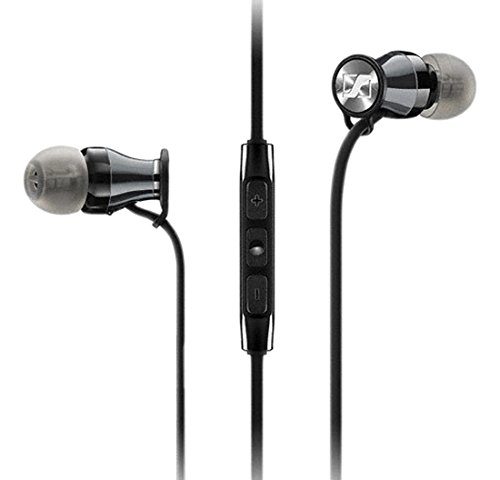 Sennheiser HD1 In-Ear Headphones  - Black Chrome