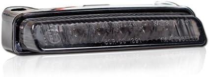 Motorrad Led Rücklicht Blade Getönt Brems Rücklicht Ohne Kzb L 78mm X H 16mm X T 32mm E Geprüft Auto
