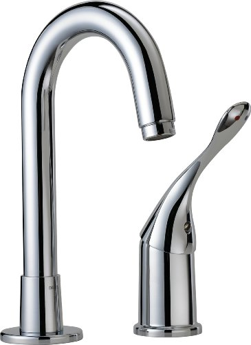 chic Moen 4905SRS Camerist One-Handle High Arc Bar Faucet, Spot Resist Stainless