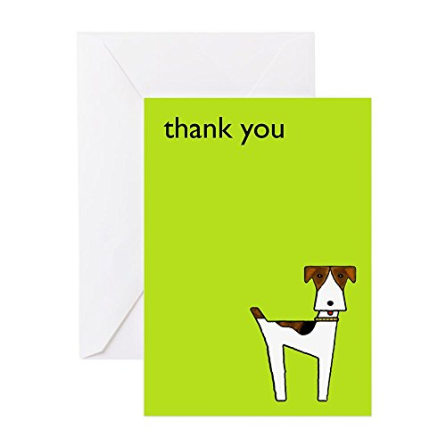 410Hpb3xpcL - CafePress - Graphic Terrier (Green) - Greeting Card (20-pack), Note Card with Blank Inside, Birthday Card Matte