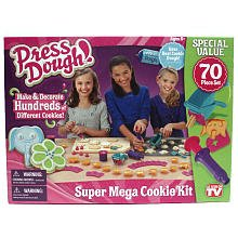 Press Dough Super Mega Cookie Set