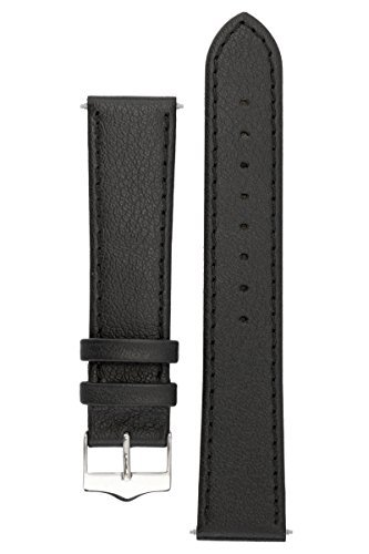 signature-seasons-in-black-18-mm-watch-band-replacement-watch-strap-genuine-leather-silver-buckle