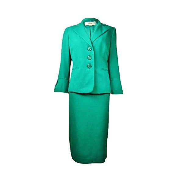 Kerrian Online Fashions 410HqYx4bzL Le Suit Women's Country Club Solid Skirt Suit