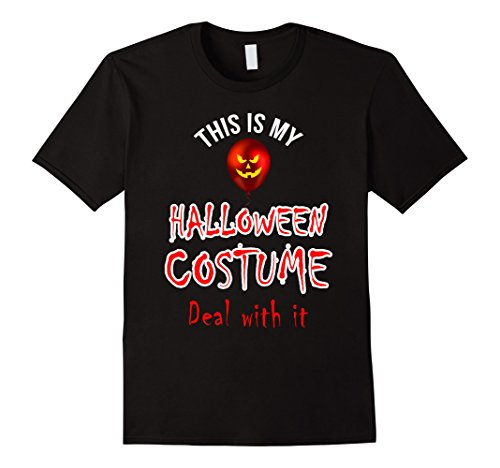 Scary Unusual Halloween Costumes (Mens This is my Halloween Costume OFFICIAL T-Shirt Small Black)