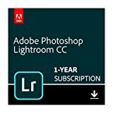 Adobe Photoshop Lightroom CC plan | 1 Year Subscription (PC Download)