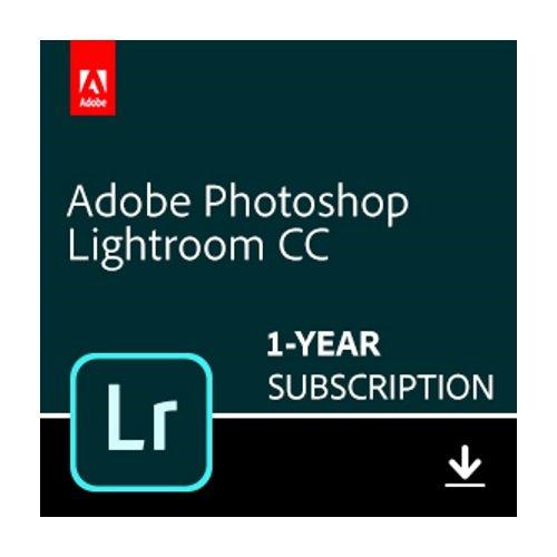 Adobe Photoshop Lightroom CC plan   1 Year Subscription (Mac Download) by Adobe