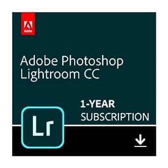Adobe Photoshop Lightroom CC plan | 1 Year Subscription (Mac Download)