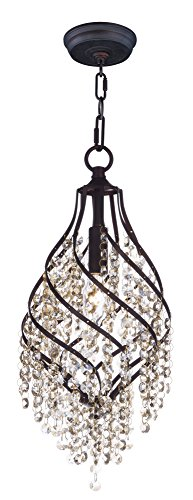 - Maxim Lighting 22003CGOI Twirl-Single Pendant 1-Light