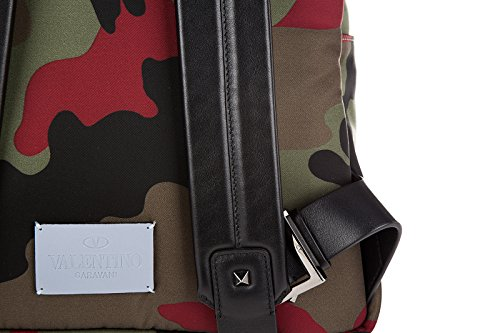 Sac à dos Valentino Garavani Homme Tissu Multicouleur (Camouflage) JY0B0340NE5 Multicouleur 10x29x43 cmEU