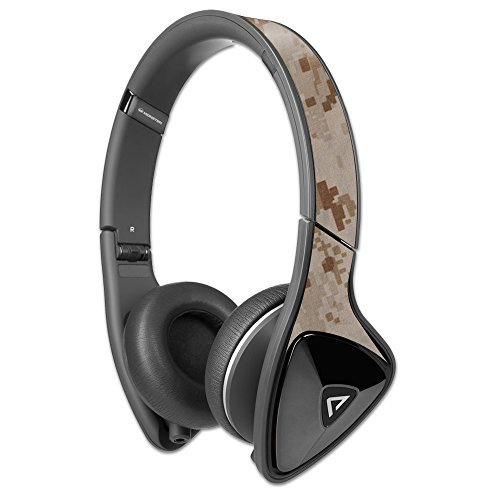 MightySkins Protective Vinyl Skin Decal Compatible with Monster DNA Headphones wrap Cover Sticker Skins Desert Camo ()