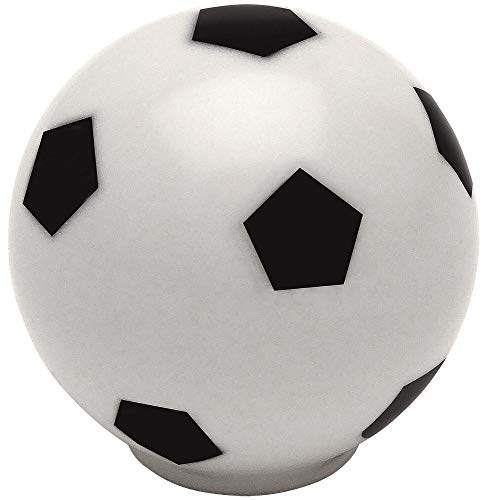 10 Pack - Cosmas Athleticz Collection 67122 Soccer Ball Round Cabinet Hardware Knob - 1-1/4