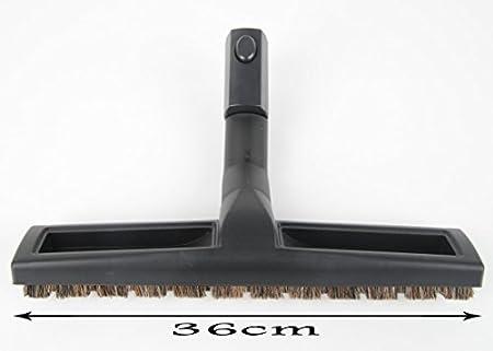 parqué suelo duro Boquilla escoba Boquilla Boquilla para suelos para aspiradora Boquilla 36cm extra ancho para AEG Electrolux ovalado Conector: Amazon.es: Hogar