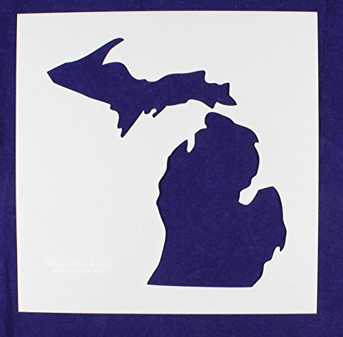State of Michigan Stencil-Mylar 14 Mil -12