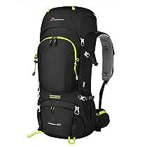Mountaintop 60L Mochila de Senderismo Impermeable Backpack