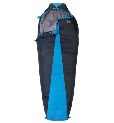 Slumberjack Latitude 40 Degree Synthetic Sleeping Bag, Long, Outdoor Stuffs