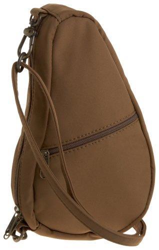Bag Baglett Shoulder AmeriBag Taupe Microfiber PCTFHp
