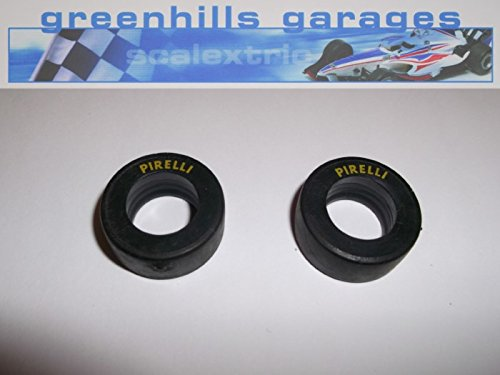 Greenhills Scalextric Pirelli F1 Front Tyre Pair New G509