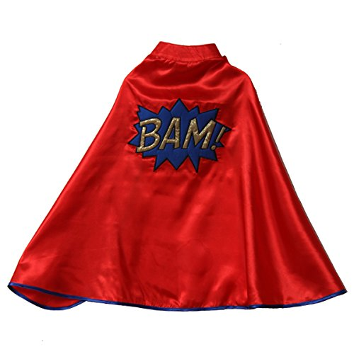 Storybook Wishes Red Superhero BAM Cape