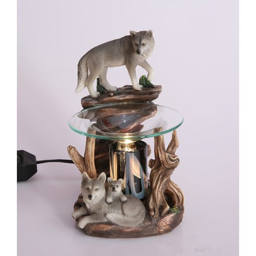wolf electric candle warmer - 3