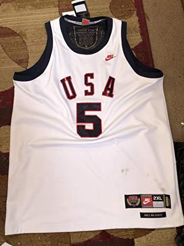 Bill Bradley Nike Basketball Jersey XXL 1964 Tokyo USA Legends 18th 18 Olympic Games XVIII Team