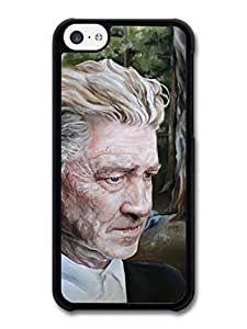 MMZ DIY PHONE CASEDavid Lynch Fire Painting Director Filmmaker case for ipod touch 4