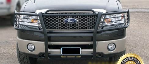 Amazon Com 2006 2007 2008 Ford F 150 2wd Black Modular Grille