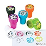 Funexpress Cool Ghoulz Ghosts Pre Inked Stampers (Set 6)