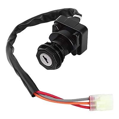 Akozon Motorcycle Ignition Key Switch Kit Fit for SUZUKI LT-Z400 QUADSPORT LTZ400 2003-2007 ATV: Automotive