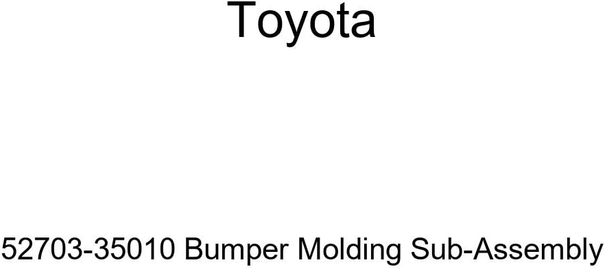 Genuine Toyota 52703-35010 Bumper Molding Sub-Assembly