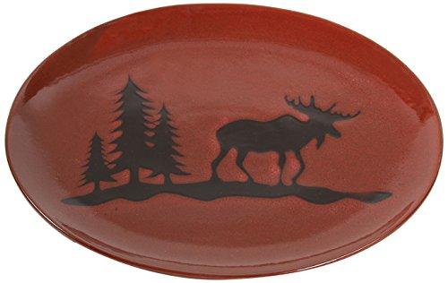 Moose Stoneware - DEI Stoneware Moose Platter, 14-Inch