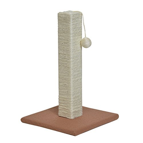 Heritage Products Scratching Post Edgar with Hanging Toy