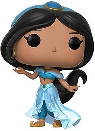 Figura de Jasmine, de la serie Disney,Cada personaje mide 9 cm de altura aproximadamente,Material 10