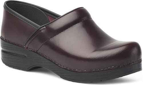 - Dansko Women's Professional Mule,Cordovan Cabrio Leather,37 EU/6.5-7 M US