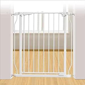 LXLX Puerta de Aislamiento para bebés, Barra de Seguridad para bebés, Cerca de perforación sin escaleras, Cerca de Poste para niños Cerca: Amazon.es: Hogar