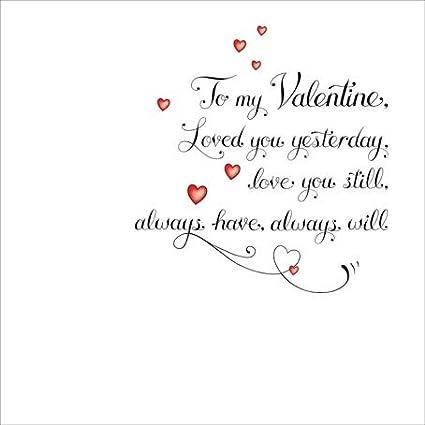 Día de San Valentín tarjeta - tatuaje estilo - con texto - a mi ...