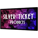 STR-169150-HC Silver Ticket 4K Ultra HD Ready Cinema Format (6 Piece Fixed Frame) Projector Screen (16:9, 150, High Contrast Material)