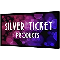 STR-169120-HC Silver Ticket 4K Ultra HD Ready Cinema Format (6 Piece Fixed Frame) Projector Screen (16:9, 120, High Contrast Material)