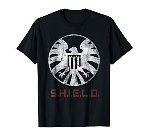 Marvel Agents of SHIELD Distressed Logo Graphic T-Shirt