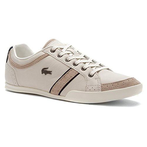 Mens Lacoste, Rayford Brogue Srm Stringate Bianco