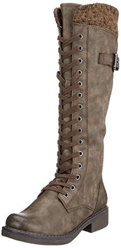 mud Marrón 26219 Tozzi Mujer 21 comb 358 Para Altas Botas Marco Ant x687q0wBw