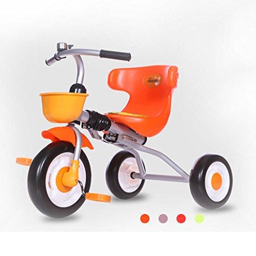 Carriolas Sillas de paseo Triciclo plegable para niños Bicicleta inflable libre Bicicleta ligera para bebés 1-3 años...