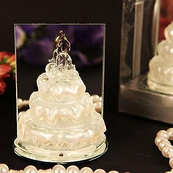 Amazon Com Murano Marvel Arte Murano Glass Wedding Cake Figurine