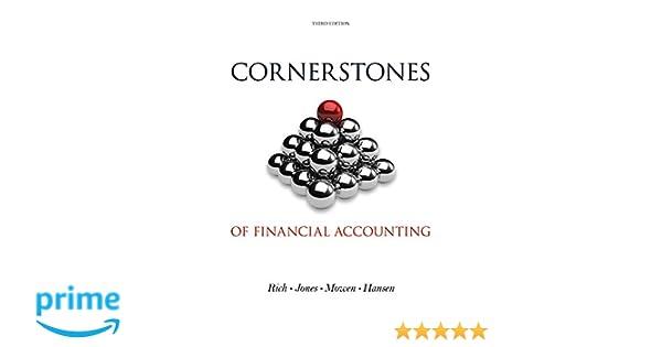 Bundle: Cornerstones of Financial Accounting, Loose-Leaf Version ...