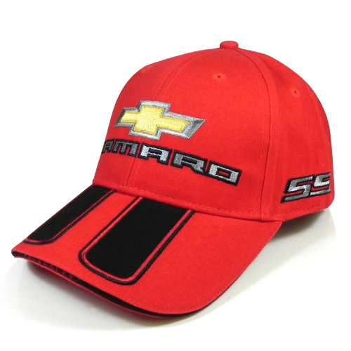 Chevrolet Camaro Rally Stripe Red Baseball Cap