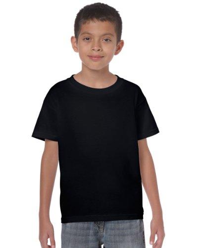 Gildan Heavy Cotton Youth Tshirt - Black - XL