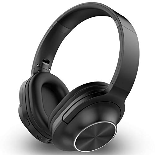 Over-Ear Headphone Closed Back Over-Ear Professional DJ Stereo Monitor Bluetooth Headphones Adapter-Free Headset-Black