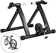 VEVOR Bike Trainer Stand 330LBS Magnetic Indoor Exercise Trainer 8 Levels Resistance Stationary Cycling Traine