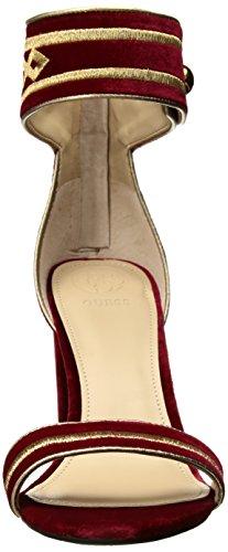 Indovina Il Sandalo Con Tacco Donna Ceneriano Rosso