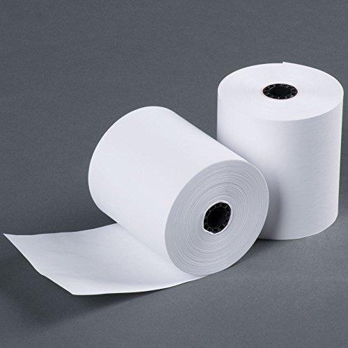 3 165 FT 1 Ply Bond Paper (50 Rolls) Kitchen Printer Paper from BuyRegisterRoll.